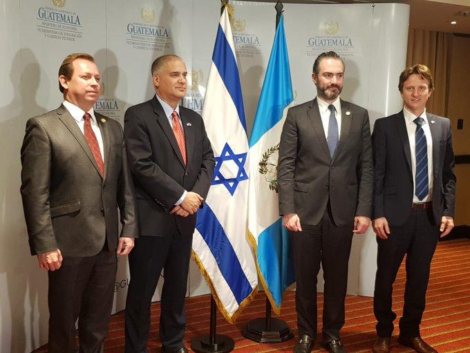 I Ronda de Negociaciones del Acuerdo Comercial entre Guatemala e Israel