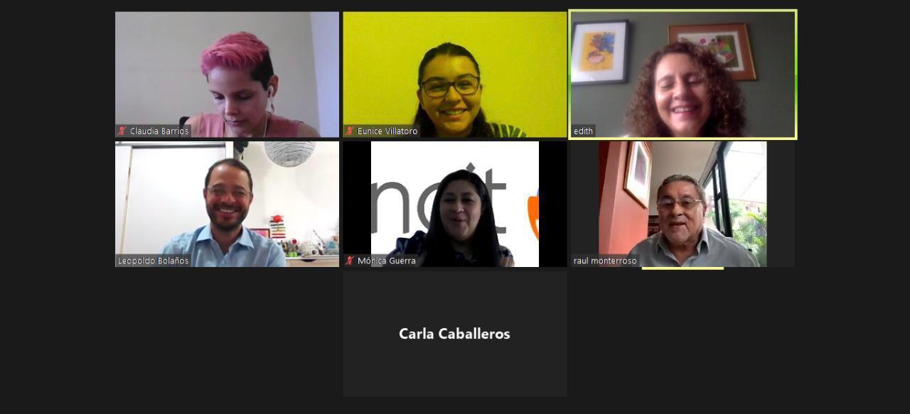 Reunión del Consejo de CENCIT con Viceministra Flores